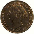 New South Wales / Australian Half Sovereign 1866 - obverse photo