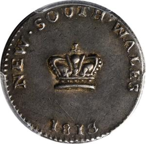 New South Wales / Fifteen Pence (Dump) - obverse photo