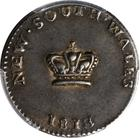 15 Pence (Dump): Photo New South Wales 1813 15 pence