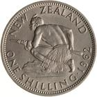 New Zealand / Shilling 1962 - reverse photo