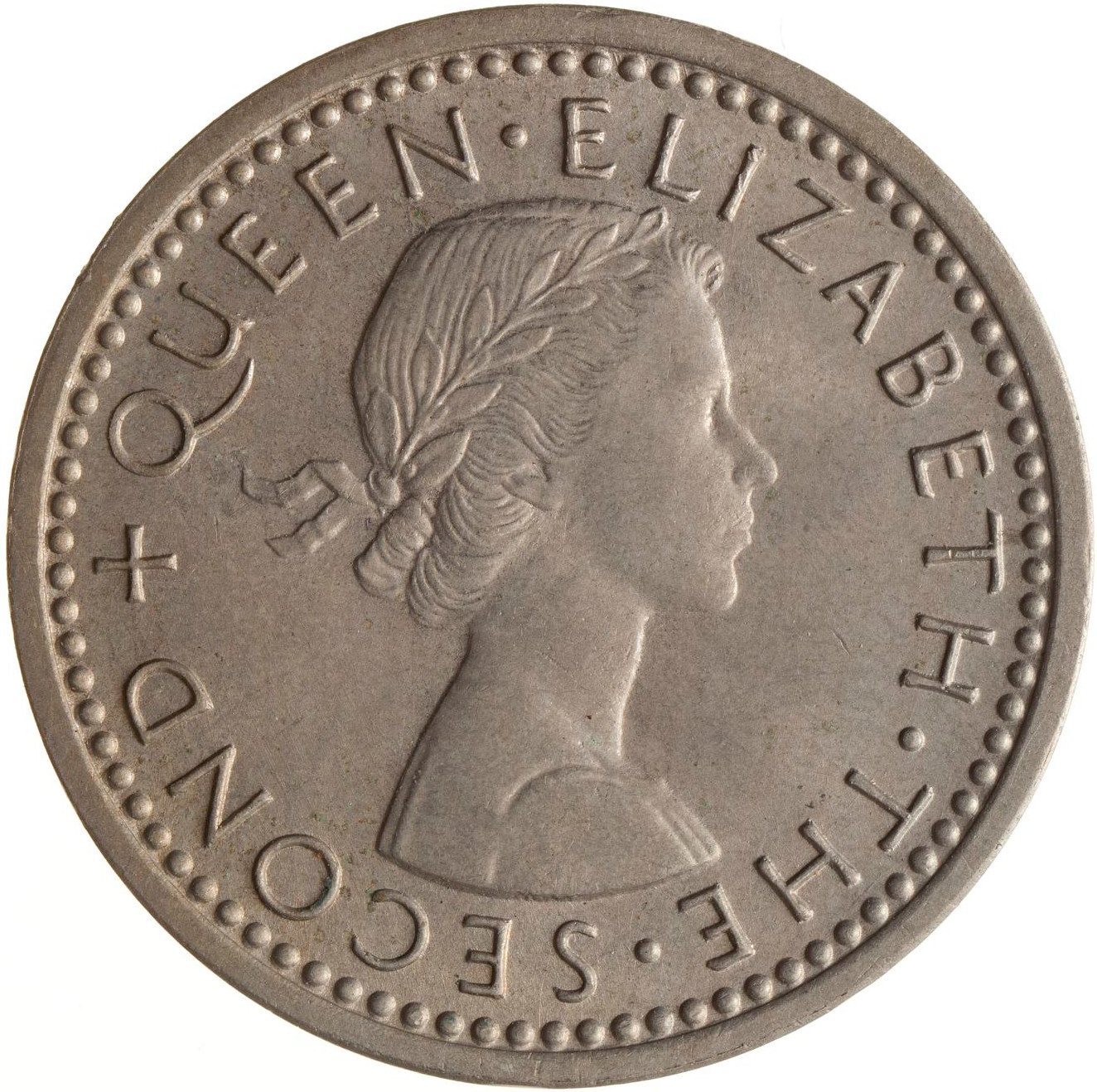 Threepence 1962: Photo Coin - 3 Pence, New Zealand, 1962