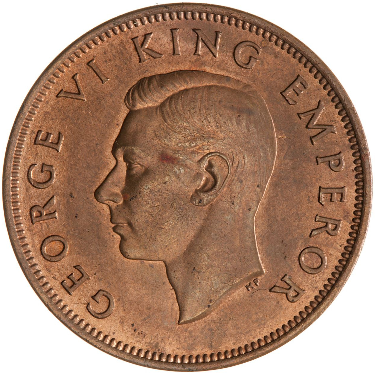 Halfpenny 1940: Photo Coin - 1/2 Penny, New Zealand, 1940