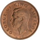 New Zealand / Halfpenny 1940 - obverse photo