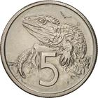 New Zealand / Five Cents 1982 - reverse photo