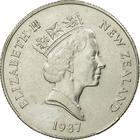 New Zealand / Fifty Cents 1987 - obverse photo