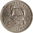 Shilling 1964: Photo Coin - 1 Shilling, New Zealand, 1964