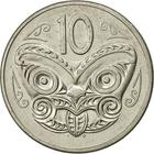 New Zealand / Ten Cents 1980 - reverse photo