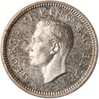 Threepence 1939: Photo Proof Coin - 3 Pence, New Zealand, 1939