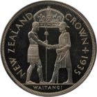Waitangi Crown 1935: Photo New Zealand 1935 crown