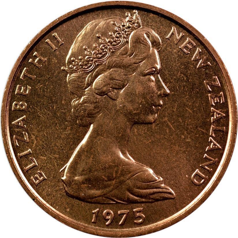 Two Cents: Photo New Zealand - 2 Cents - 1975