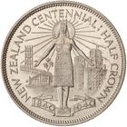 New Zealand / Half Crown 1940 (Centennial) / Proof - reverse photo