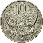 New Zealand / Ten Cents 1967 - reverse photo