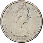 New Zealand / Five Cents 1982 - obverse photo