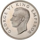 Half Crown 1947: Photo Proof Coin - 1/2 Crown, New Zealand, 1947