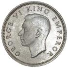 New Zealand / Sixpence 1946 - obverse photo