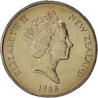 New Zealand / Fifty Cents 1988 - obverse photo
