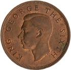 Halfpenny 1951: Photo Coin - 1/2 Penny, New Zealand, 1951