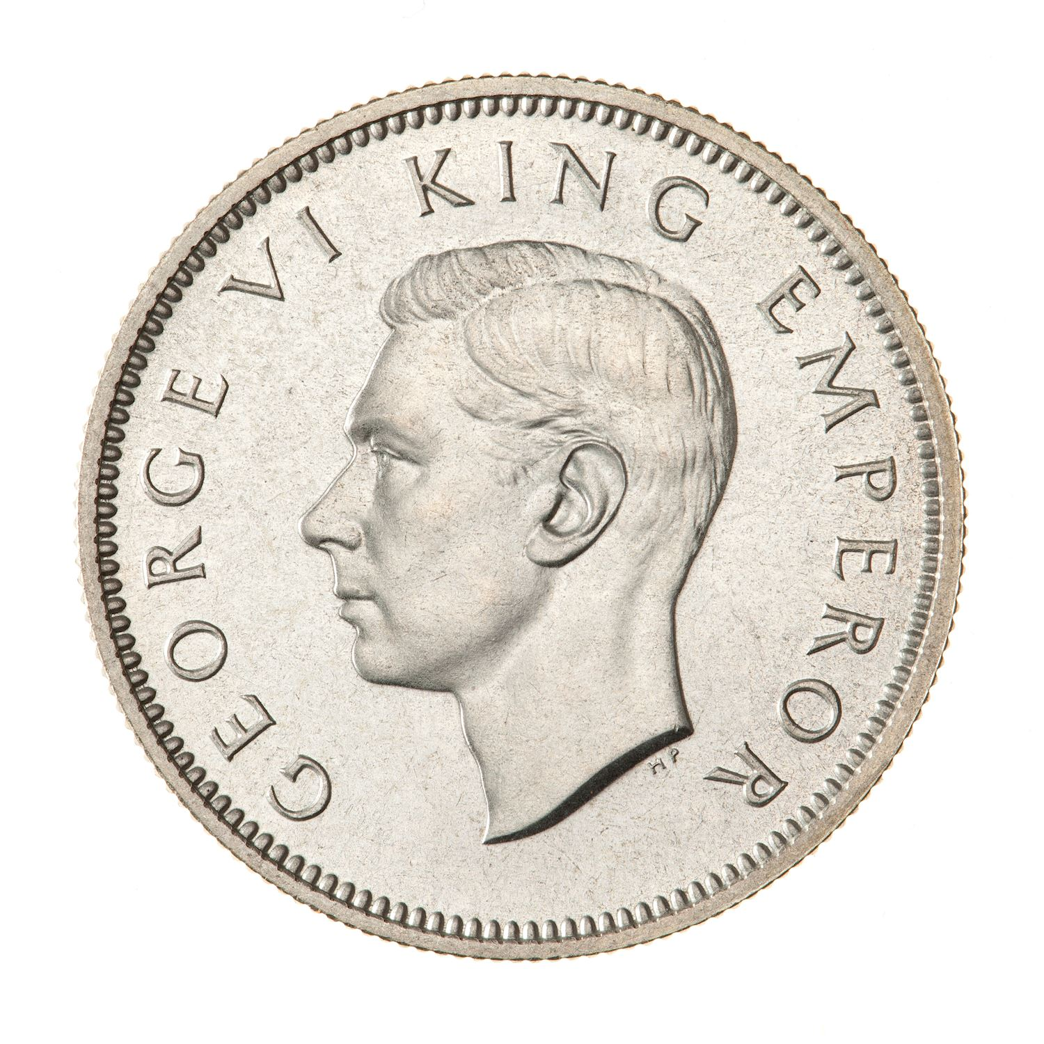 Shilling: Photo Proof Coin - 1 Shilling, New Zealand, 1937