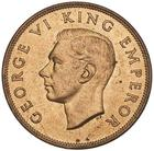 New Zealand / Penny 1944 - obverse photo