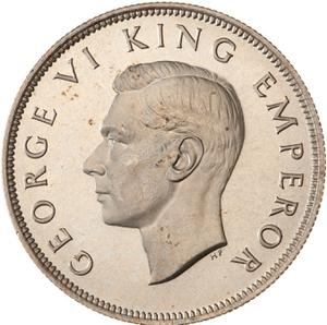 New Zealand / Half Crown 1940 (Centennial) - obverse photo