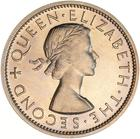 New Zealand / Half Crown 1953 - obverse photo