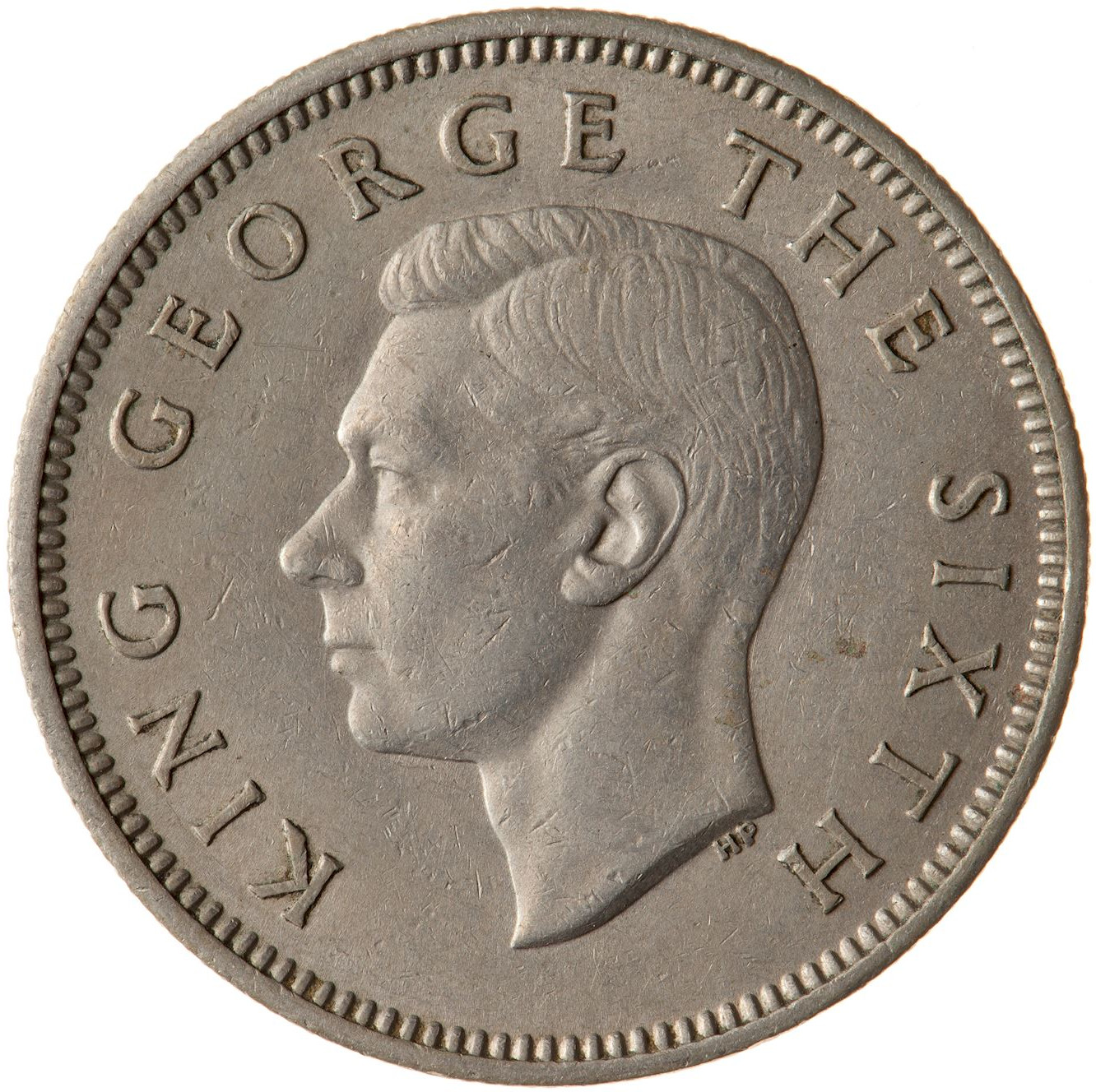 Shilling 1948: Photo Coin - 1 Shilling, New Zealand, 1948