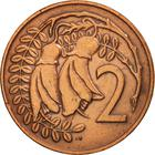 New Zealand / Two Cents 1974 - reverse photo
