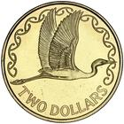 New Zealand / Two Dollars 1995 (mint sets only) - reverse photo