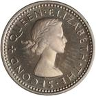 Threepence 1953: Photo Proof Coin - 3 Pence, New Zealand, 1953