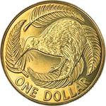 New Zealand / One Dollar 2011 (mints sets only) - reverse photo