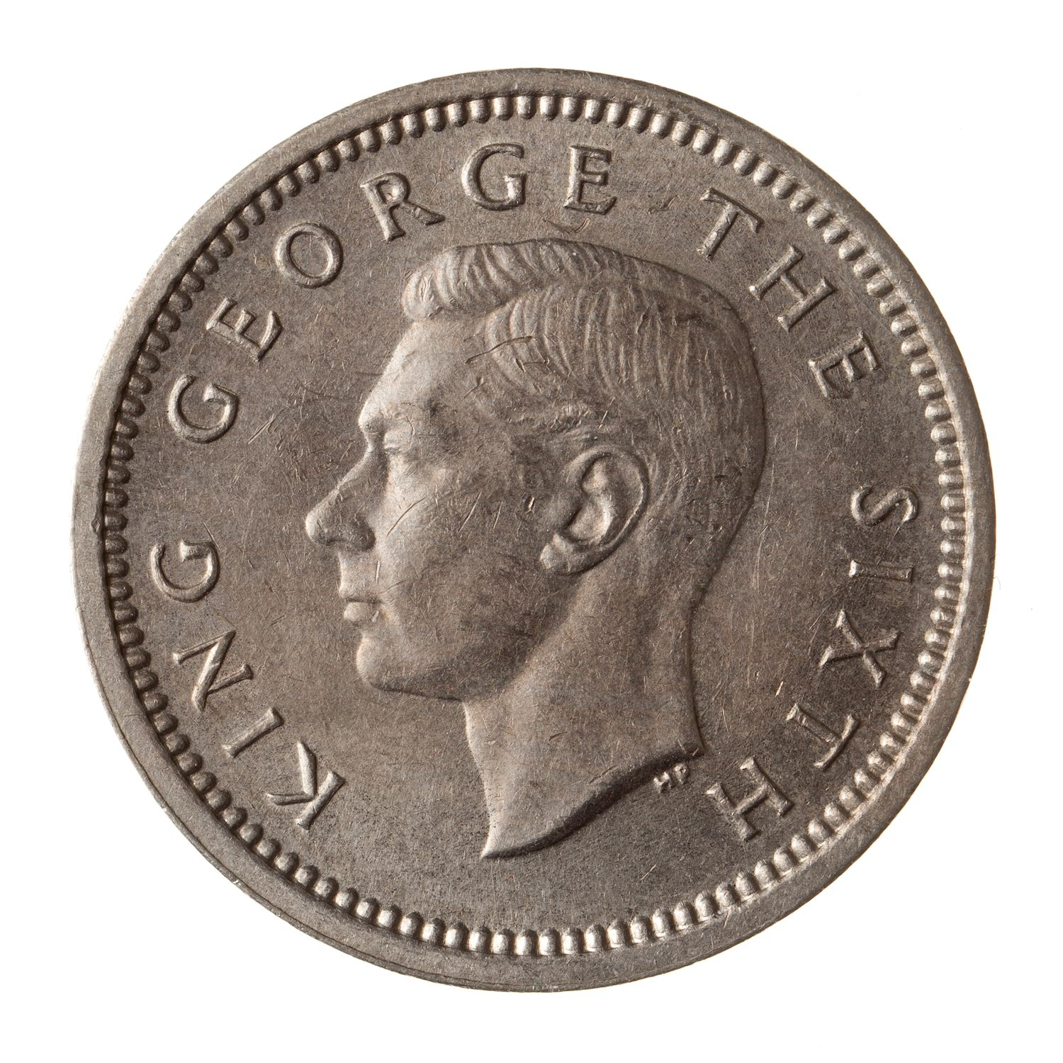 Threepence: Photo Coin - 3 Pence, New Zealand, 1948