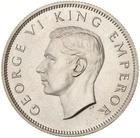Florin 1937: Photo Proof Coin - Florin (2 Shillings), New Zealand, 1937