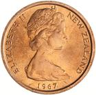 New Zealand / One Cent 1967 - obverse photo