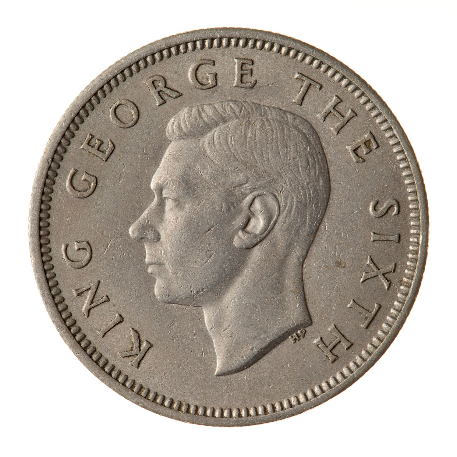 Shilling: Photo Coin - 1 Shilling, New Zealand, 1948