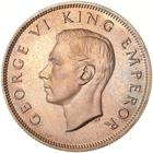 Half Crown 1937: Photo Proof Coin - 1/2 Crown, New Zealand, 1937