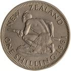 New Zealand / Shilling 1961 - reverse photo