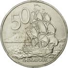 New Zealand / Fifty Cents 1987 - reverse photo