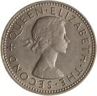 New Zealand / Shilling 1961 - obverse photo