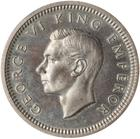 Threepence 1937: Photo Proof Coin - 3 Pence, New Zealand, 1937