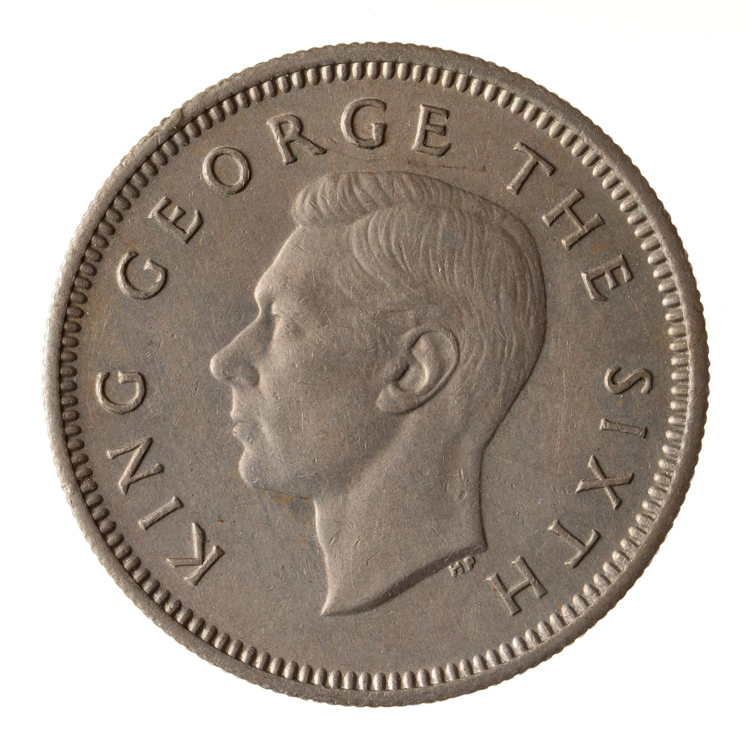 Sixpence: Photo Coin - 6 Pence, New Zealand, 1951