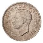 Royal Visit Crown 1949: Photo Coin - Crown (5 Shillings), New Zealand, 1949