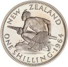 Shilling 1964: Photo Proof Coin - 1 Shilling, New Zealand, 1964
