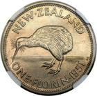 New Zealand / Florin 1951 / Proof - reverse photo