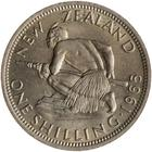 New Zealand / Shilling 1965 - reverse photo