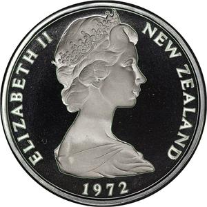 New Zealand / Fifty Cents 1972 - obverse photo