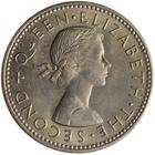 New Zealand / Shilling 1965 - obverse photo