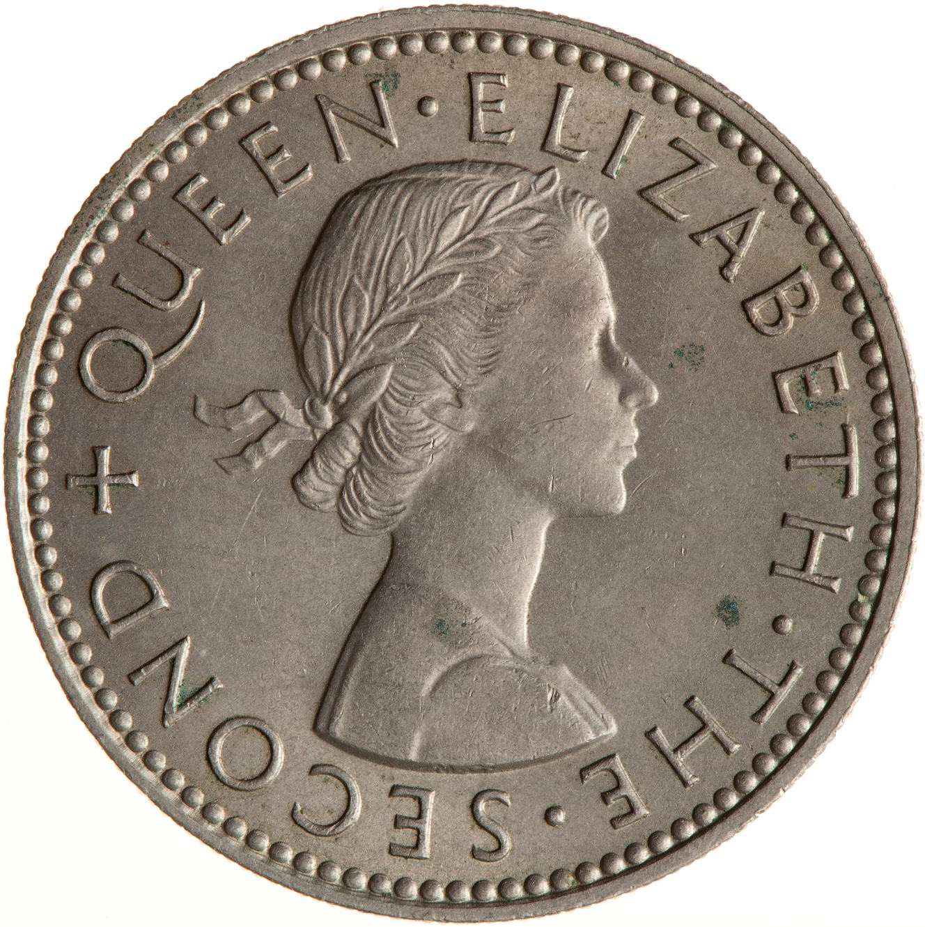 Shilling 1958: Photo Coin - 1 Shilling, New Zealand, 1958