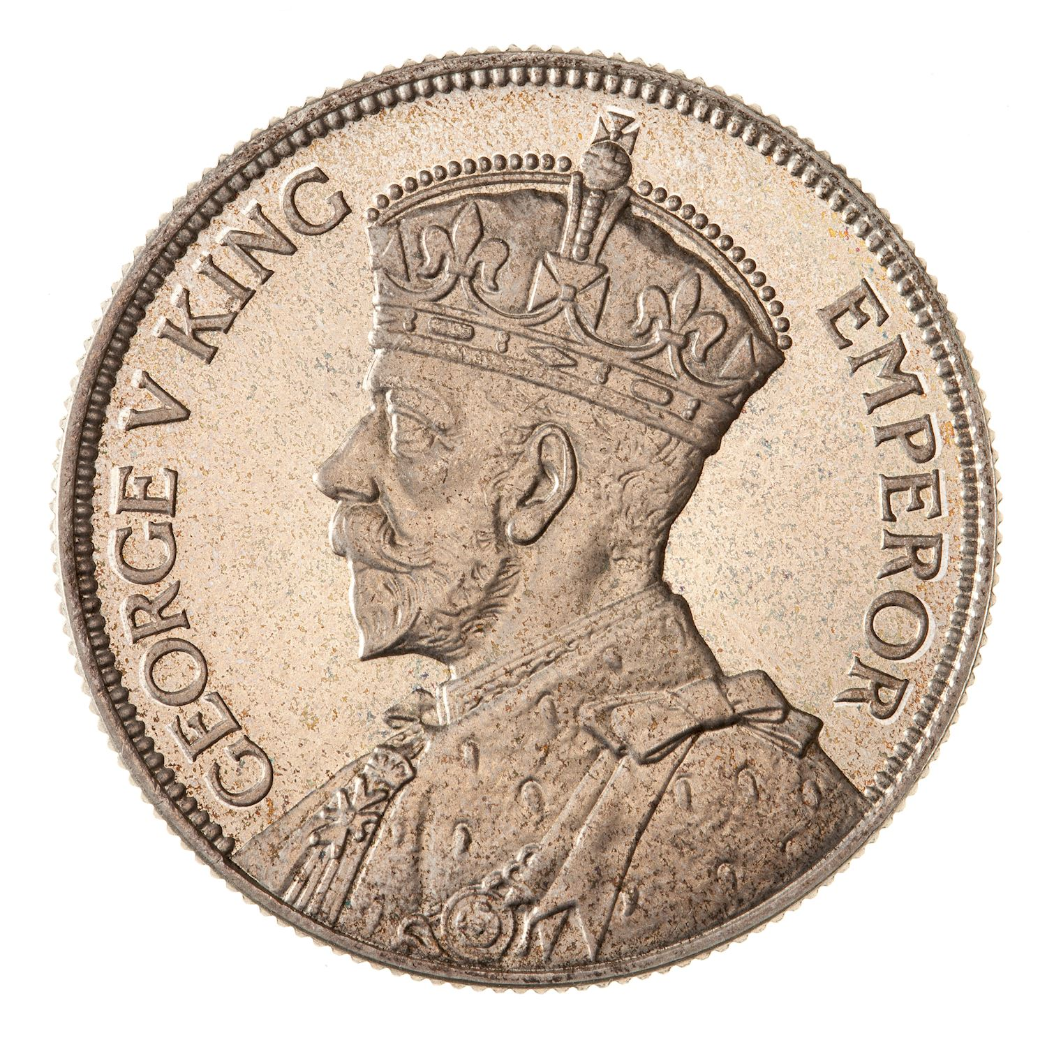 Florin: Photo Proof Coin - Florin (2 Shillings), New Zealand, 1933