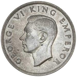 New Zealand / Half Crown 1946 - obverse photo