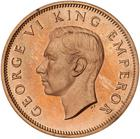 New Zealand / Halfpenny 1940 / Proof - obverse photo